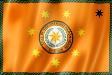 Cherokee People Ethnic Flag, USA