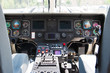 Inside of an emergency-transport Helicopter