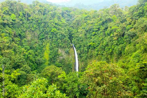 Fotomural La fortuna waterfall