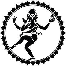 Shiva Nataraja Silhouette In A...