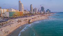 Tel Aviv Promenade, Israel, Ae...