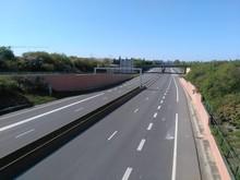 Voie Express Au Sud De Lyon Ou D301 Appelée Boulevard Urbain Sud - Département Du Rhône - France