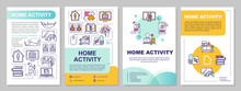Home Activity Brochure Templat...