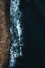 Overhead Of Rock Beach
