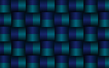 Abstract Texture Stripes Blue Background