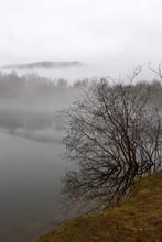 Winter Mists Paint A Mountain ...
