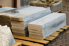 Piles Of Granite Marble Slabs....