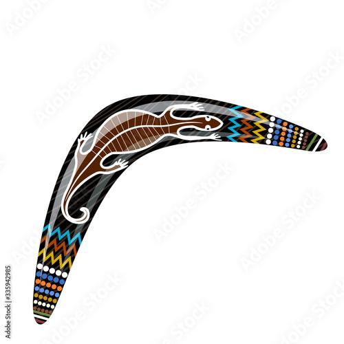 Australian wooden boomerang Tapéta, Fotótapéta