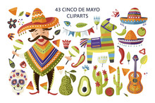 Cinco De Mayo Vector Colorful ...