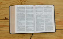 Open Bilingual Bible Book On J...