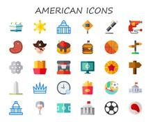American Icon Set
