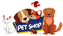 Font Design For Pet Shop With ...