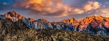 Mount Whitney Peak Panorama Su...