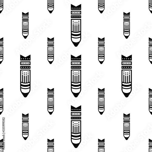 Bomb Icon Seamless Pattern, Bomb Icon, Explosive Weapon Fused To Detonate Explos Fototapet