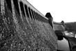 Möhnesee Talsperre Damm Stausee Sauerland Deutschland Arnsberger Wald Soest Naherholungsgebiet  Mauer Türme Wasserspiegel Trinkwasser Kraftwerk Dambusters Versorgung Bomber Katastrophe Torpedos Flut
