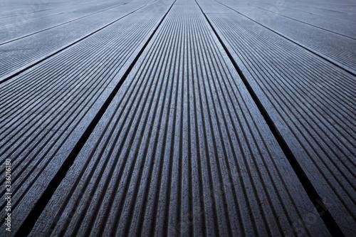 Fototapeta Dark natural wood texture surface, seamless background obraz