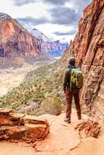 Hiking Angels Landing Trail