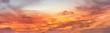 Leinwandbild Motiv Sunset with amazing colors