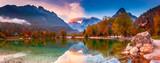 Fototapeta  - Jasna lake, Slovenia