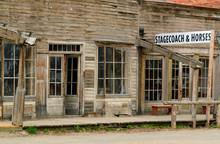 Old Virginia City Ghost Town , Montana , USA