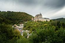 Castle Of Vianden Luxembourg
