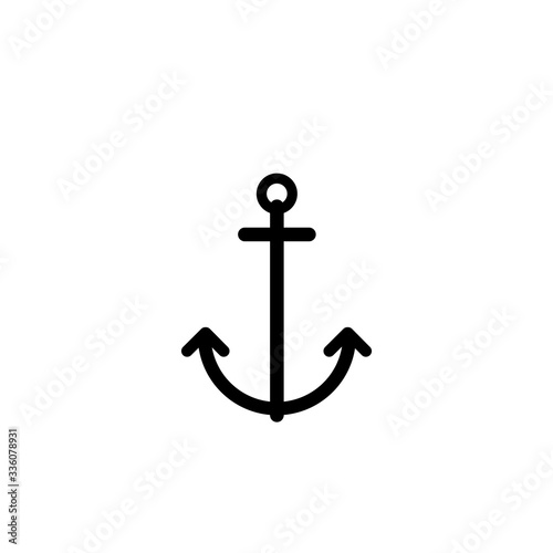 Fotografía anchor ship icon