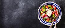 Greek Salad Of Fresh Vegetable...