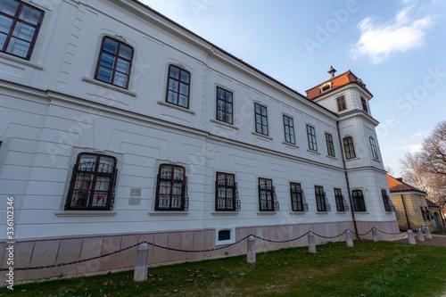 Esterhazy palace in Tata, Hungary Fototapete