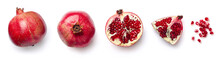 Fresh Pomegranate Isolated On ...