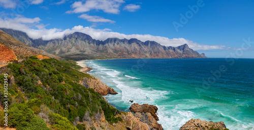 The glorious Clarence Drive between Gordon's Bay and Rooi Els Canvas Print