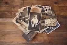 Old Vintage Monochrome Photogr...