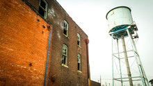Abandoned Factory & Water Tower