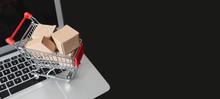 E-commerce, Shopping Trolley W...
