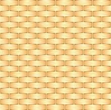 Wicker Background, Seamless Pattern