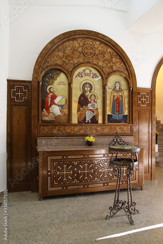Fotografie, Tablou Aswan Orthodox Cathedral in Egypt