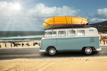 VW With Surfboards. Guincho Po...