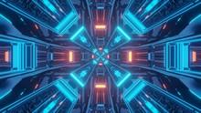 3D Rendering Futuristic Sci-fi...