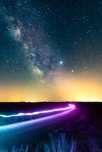 Milky Way Lightpainting