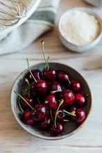 Baking With Fresh Cherries
