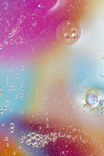 Abstract Colorful Drops