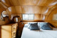 Caravan Interior's Bed
