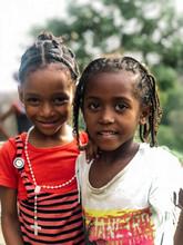 Black Cute Children Portrait L...