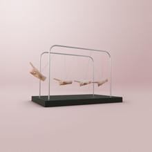 Pendulum Swing Made Of Hands