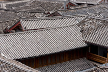 Traditional Chinese Tiled Roofs