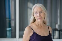 Portrait Of A Senior Woman Wit...