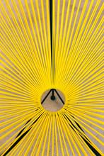 Yellow String Chair Furniture Detail
