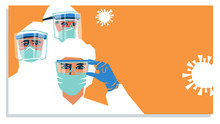 Medical Staff Wearing PPE, Per...