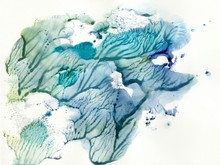 Abstract Watercolor Drawing In...