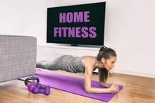 Fitness Workout Staying At Hom...