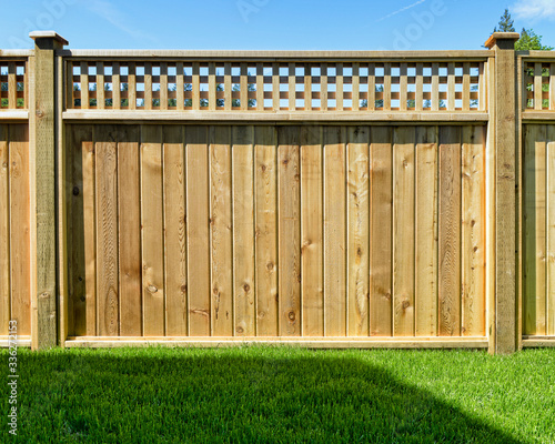 Photo Fence Panel